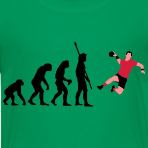 evolution_handballer_a_3c T-shirts - Teenager premium T-shirt