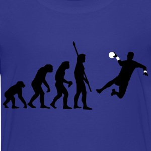 evolution_handballer_c_2c T-shirts - Teenager premium T-shirt