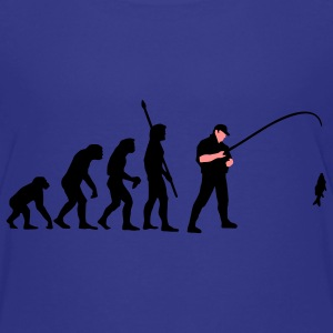 evolution_angler_a_2c_fisch Shirts - Teenage Premium T-Shirt