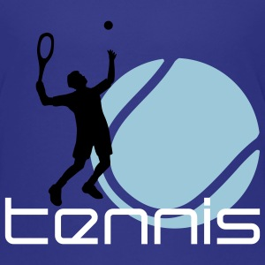 tennis_h_3c T-shirts - Teenager premium T-shirt