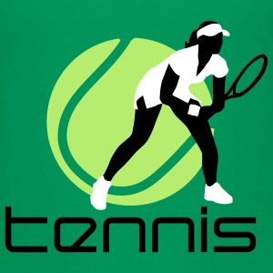 tennis_female_b_3c Shirts - Teenager Premium T-shirt
