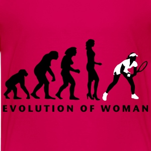evolution_female_tennis_b_2c Camisetas - Camiseta premium adolescente