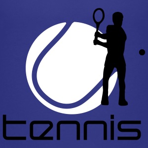 tennis_g_2c T-shirts - Teenager premium T-shirt