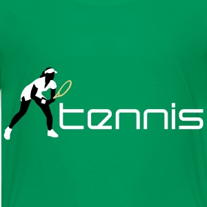 tennis_female_c_3c Shirts - Teenage Premium T-Shirt