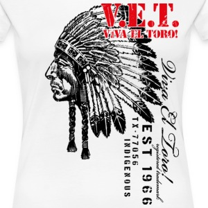 Viva El Toro! Sitting Bull For The Indigenous - Women's Premium T-Shirt