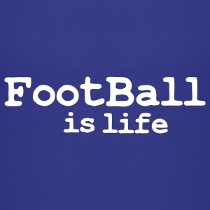 football is life Barneskjorter - Premium T-skjorte for tenåringer