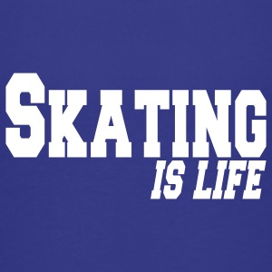 skating is life Kids' Shirts - Teenage Premium T-Shirt