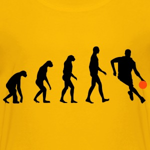 Evolution Basketball Børne T-shirts - Teenager premium T-shirt