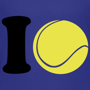 I love Tennis Kids' Shirts - Teenage Premium T-Shirt