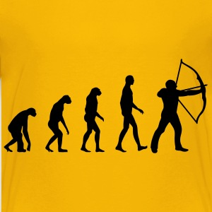 Evolution Bogenschießen Kinder T-Shirts - Teenager Premium T-Shirt