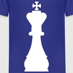 Schach König Kinder T-Shirts - Teenager Premium T-Shirt