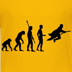evolution_potter_1c_a T-shirts - Teenager premium T-shirt