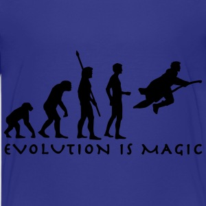 evolution_potter_1c_b Shirts - Teenage Premium T-Shirt