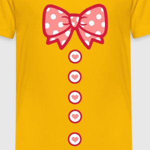 schleifchen Kinder T-Shirts - Teenager Premium T-Shirt