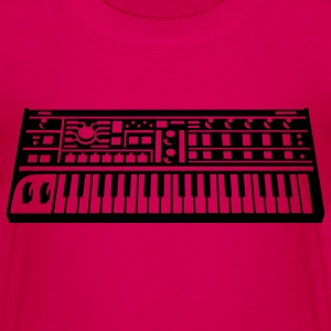 Synthesizer Børne T-shirts - Teenager premium T-shirt