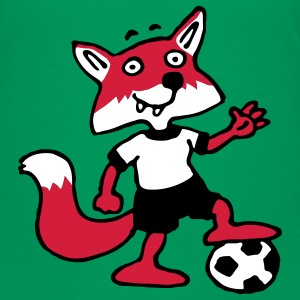 soccer_fox_l_3c Shirts - Teenager Premium T-shirt