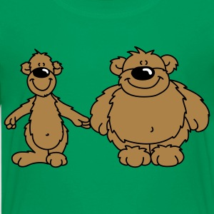 Two bears Kids' Shirts - Teenage Premium T-Shirt
