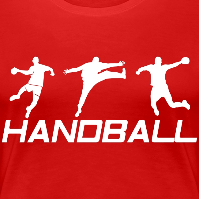 6c6578861ff3c Tee-shirts Handball   Tee-Shirt Femme Handball Gardien + 2 joueurs ...