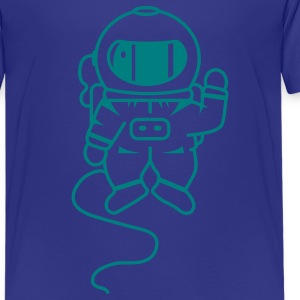 small astronaut in space Kids' Shirts - Teenage Premium T-Shirt