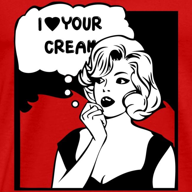 T-shirt popart Creamart Homme
