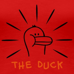 The Duck T-skjorter - Premium T-skjorte for kvinner