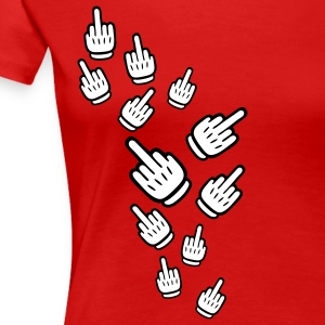 comic_gloves_design_2c T-shirt - Maglietta Premium da donna