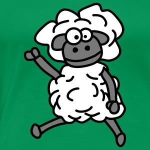 cool_sheep_3c T-shirts - T-shirt Premium Femme