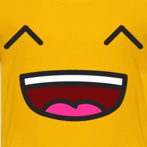 Smiley Lächeln Kinder T-Shirts - Teenager Premium T-Shirt
