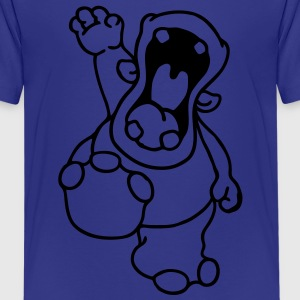 Hello Hippo! Kids' Shirts - Teenage Premium T-Shirt
