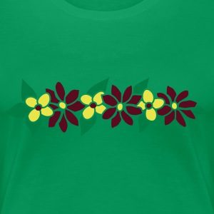 Hawaiian lei  party decoration by Patjila T-Shirts - Frauen Premium T-Shirt