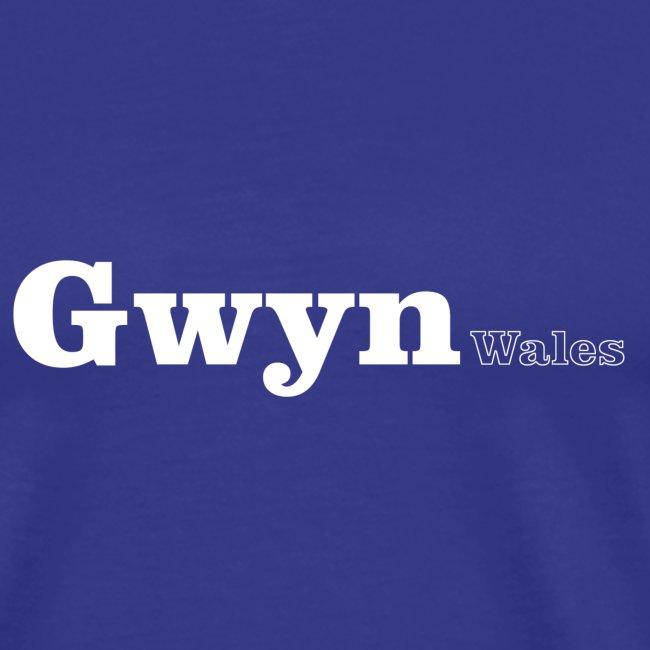 Gwyn Wales white text