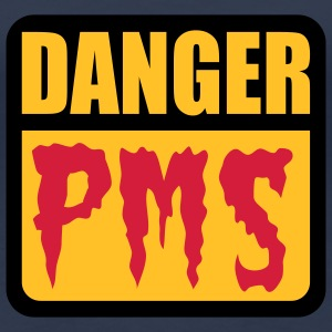 Danger PMS | Prämenstruelles Syndrom | Premenstrual Syndrome T-Shirts - Camiseta premium mujer