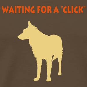 Waiting for a click T-Shirts - Männer Premium T-Shirt