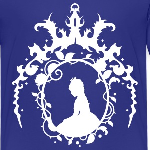 Ornamental arch with crown Kids' Shirts - Teenage Premium T-Shirt