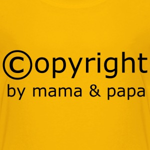 copyright baby (md) - Teenager Premium T-Shirt