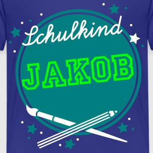 Schulkind Kreis Kinder T-Shirts - Teenager Premium T-Shirt
