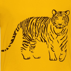 tiger katze löwe puma lion cougar cat zoo wild tiershirt shirt tiermotiv tigermotiv party Kinder T-Shirts - Teenager Premium T-Shirt