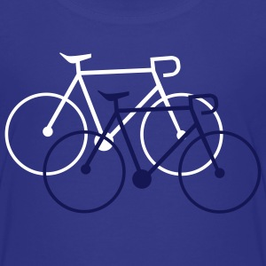 bike singlespeed fixie bicycle Shirts - Teenage Premium T-Shirt