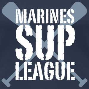 Marines SUP LEAGUE | Stand Up Paddling T-Shirts - Maglietta Premium da donna