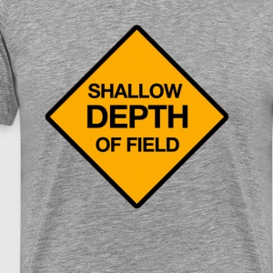 shallow depth of field - Männer Premium T-Shirt