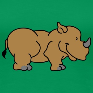 Sweet little rhino T-Shirts - Women's Premium T-Shirt