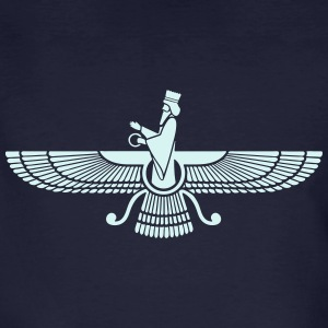 Faravahar, Zarathustra, Symbol of Higher Spirit T-shirts - Ekologisk T-shirt herr