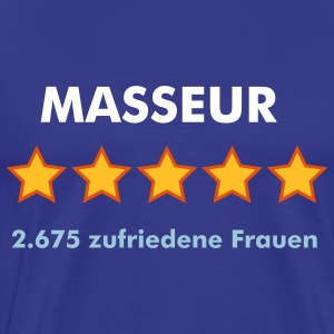 MASSEUR - RATE YOURSELF with 5 STARS - Männer Premium T-Shirt