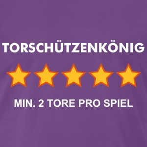 TORSCHÜTZENKÖNIG - RATE YOURSELF with 5 STARS - Männer Premium T-Shirt