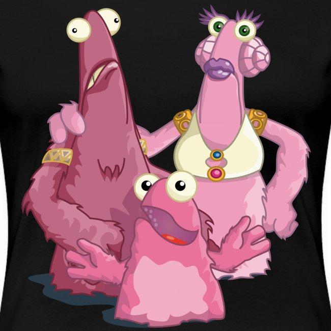 """Girle-Shirt """"Vieh-Familie"""""""