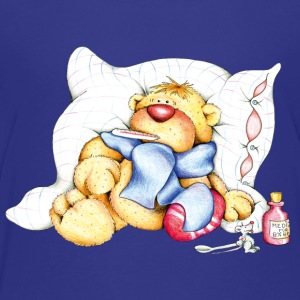 The little bear is ill Kids' Shirts - Teenage Premium T-Shirt