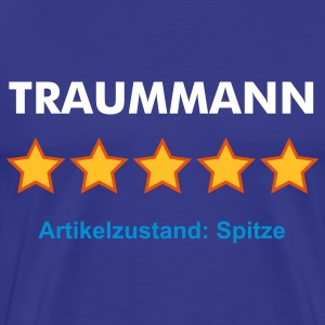 TRAUMMANN - RATE YOURSELF with 5 STARS - Männer Premium T-Shirt