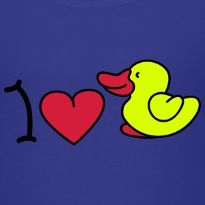 I love ducks Kids' Shirts - Teenage Premium T-Shirt