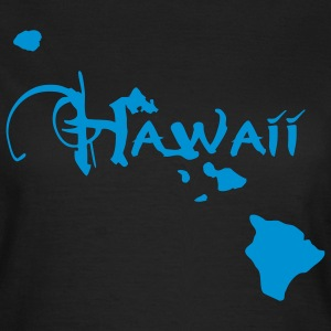 Hawaii, the surfers paradise island Ukulelisten.  T-Shirts - Women's T-Shirt
