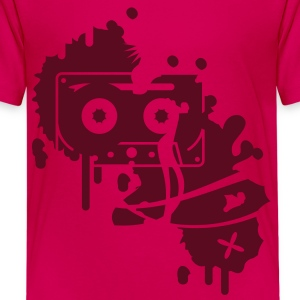 a music cassette graffiti Kids' Shirts - Teenage Premium T-Shirt